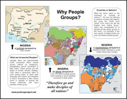 Why People Groups?