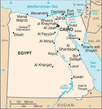 Algerian, Arabic-speaking in Egypt