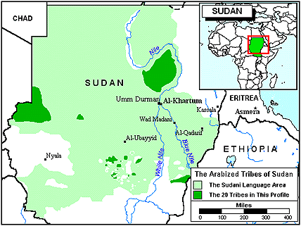Ghulfan, Arabized in Sudan