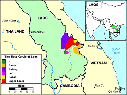 Pacoh in Laos