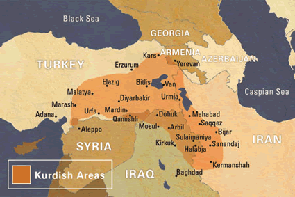 Kurd, Central in United States