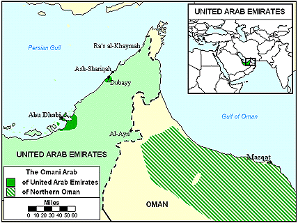 Arab, Omani in United Arab Emirates