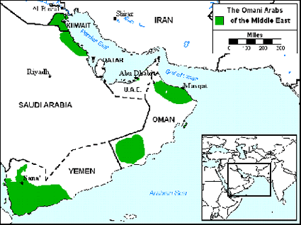 Arab, Omani in Saudi Arabia