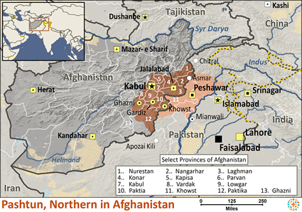 Pashtun, Northern in Afghanistan