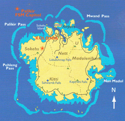 Ponapean in Micronesia, Federated States