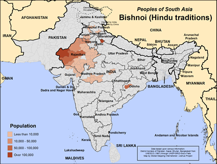 Bishnoi (Hindu traditions) in India