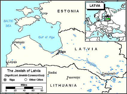 Jew, Latvian in Latvia